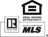 Equal Housing, Realtor, MLS